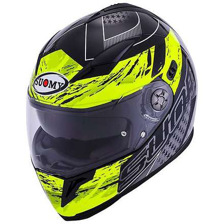 Halo Drift yellow Helmet Suomy