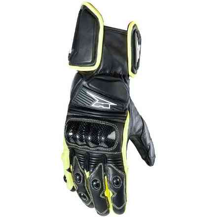 Handschuhe KK4R HT Black/Yellow Axo