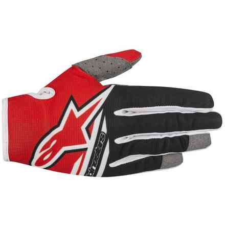 Handshuhe Radar Flight Rot Schwarz Alpinestars