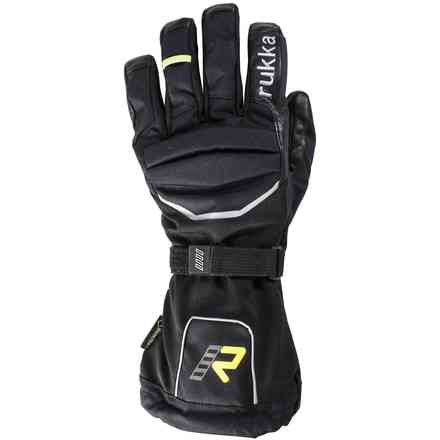 Harros giallo nero Gloves RUKKA