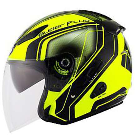 Hellcat Superfluo Yellow helmet KYT