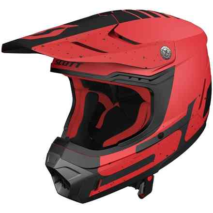 Helm 350 Evo Plus Team Ece Rot Schwarz X Scott