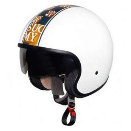 Helm 70's Chic White Suomy