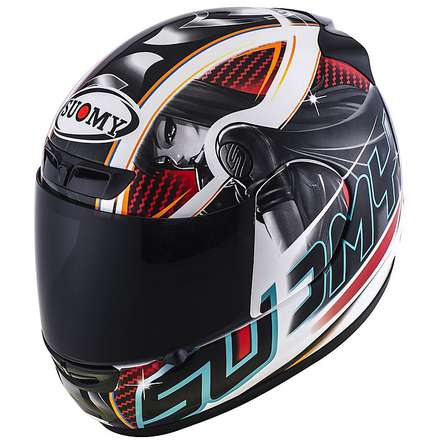 Helm Apex Pike red Suomy