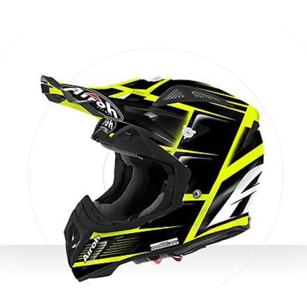 Helm Aviator  2.2 Reflex black gloss Airoh
