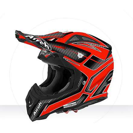 Helm Aviator  2.2 Ripple  orange gloss Airoh