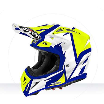 Helm Aviator  2.2  Steady yellow gloss Airoh