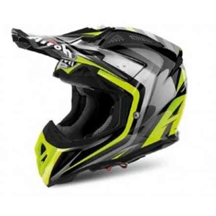 Helm Aviator 2.2 Warning  Airoh