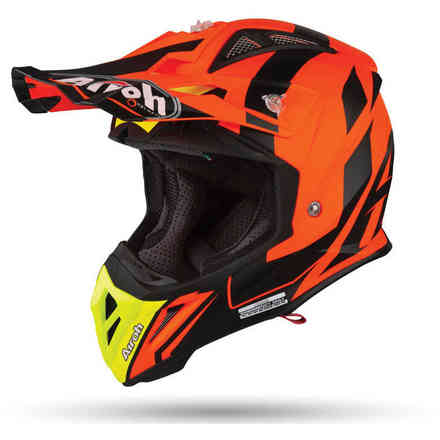 Helm Aviator 2.3 Bigger Orange Matt Airoh