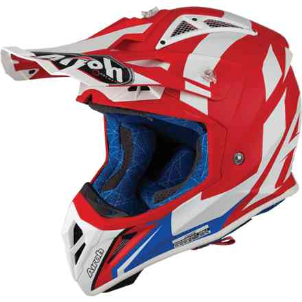 Helm Aviator 2.3 Bigger Rot Matt Airoh