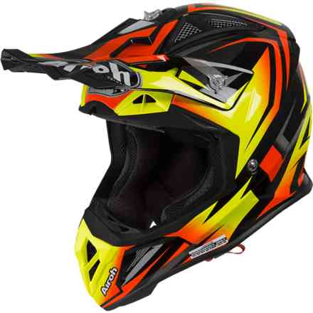 Helm Aviator 2.3 Fame Orange Matt Airoh