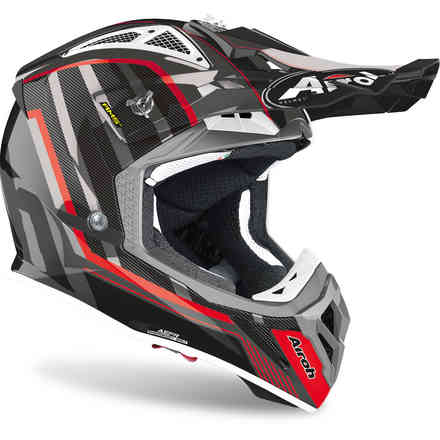 Helm Aviator 2.3 Glow Chrome Grau Airoh