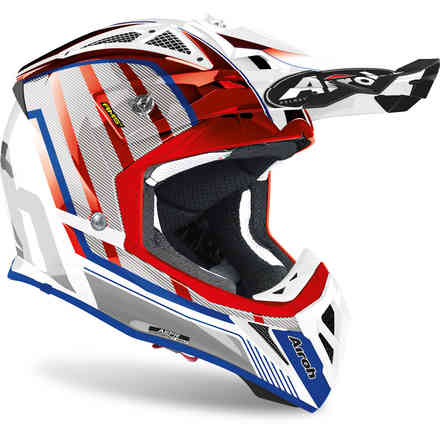 Helm Aviator 2.3 Glow Chrome Rot Airoh
