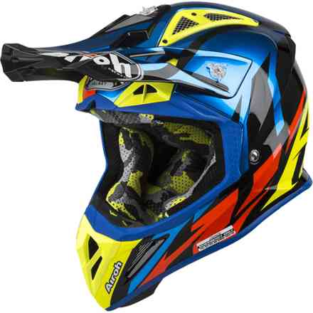 Helm Aviator 2.3 Great Blau Gloss Airoh