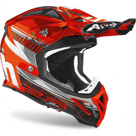 Helm Aviator 2.3 Novak Chrome Orange Airoh
