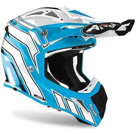 Helm Aviator Ace Art Azurblau Airoh