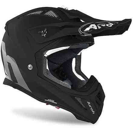 Helm Aviator Ace Color Schwarz Matt Airoh