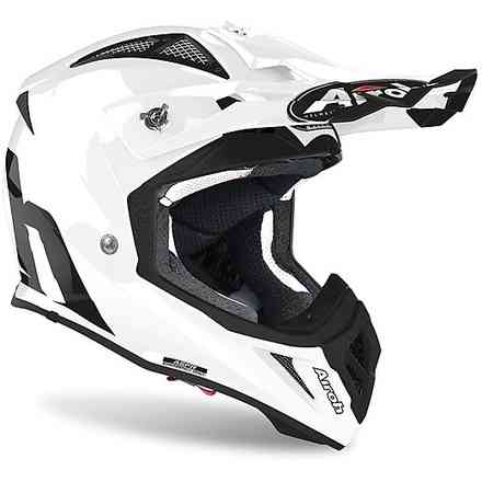 Helm Aviator Ace Color Weiß Glanz Airoh