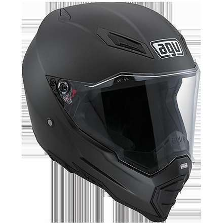 HELM AX-8 EVO NAKED - matt black Agv