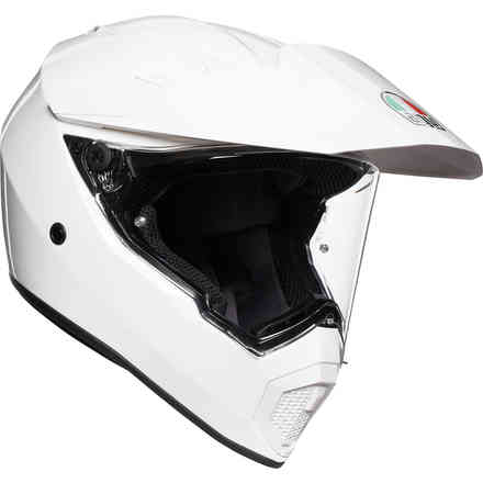 Helm Ax9 Solid Weiss Agv