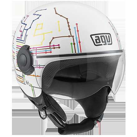 Helm Bali Copter subway Agv