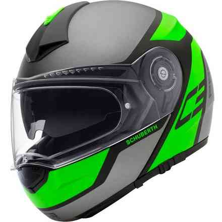 Helm C3 Pro Echo Green Schuberth