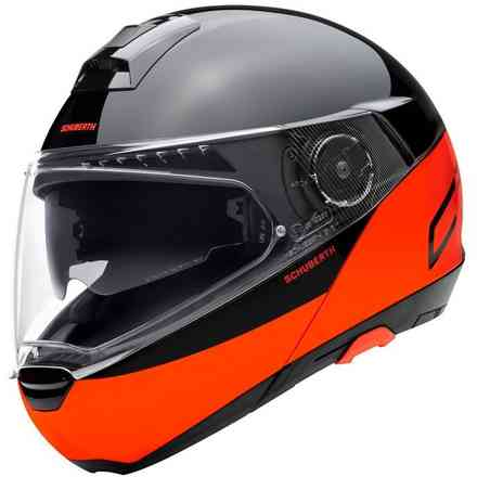 Helm C4 Pro Swipe Orange Schuberth
