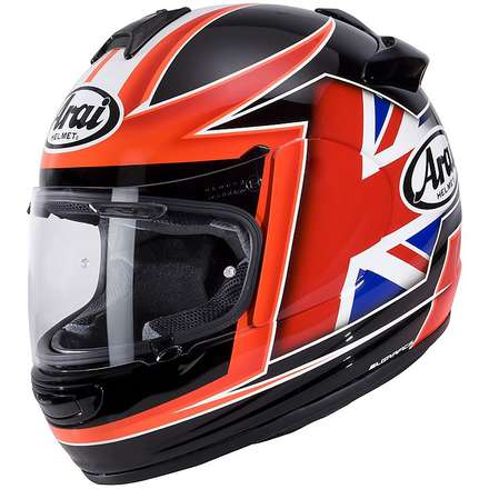 Helm Chaser V Flag UK Arai