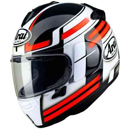 Helm Chaser-X Competition Rot Arai