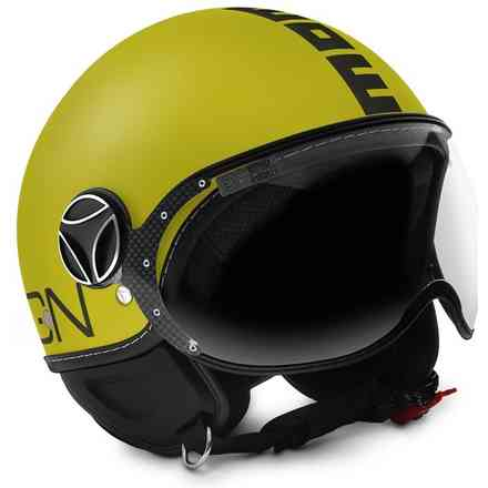 Helm Cls Gelb Matt/Anthr. Momo