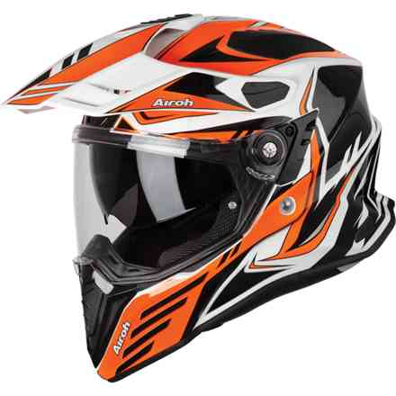 Helm Commander Carbon Orange Airoh