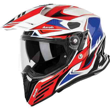 Helm Commander Carbon Rot Airoh