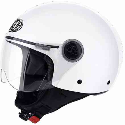 Helm Compact Pro weiss Airoh