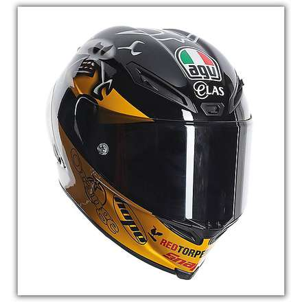 Helm Corsa Replica Guy Martin Agv