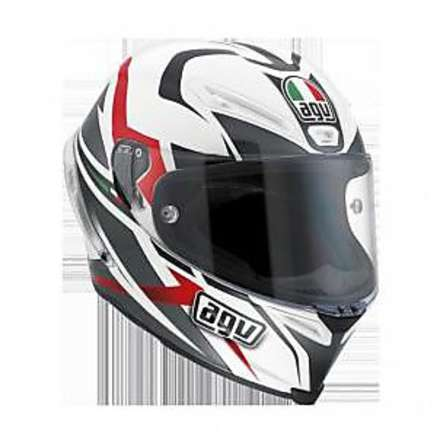 Helm Corsa VELOCITY - white/black/red Agv