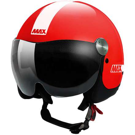 Helm D-Jet Roadie Shiny red MAX - Helmets
