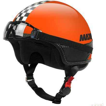 Helm D-Jet Slim Orange MAX - Helmets