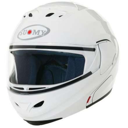Helm D20 Plain White Suomy