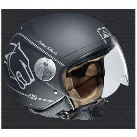Helm Demi-Jet 101 Luxury Antera
