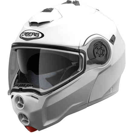 Helm Droid metal white Caberg