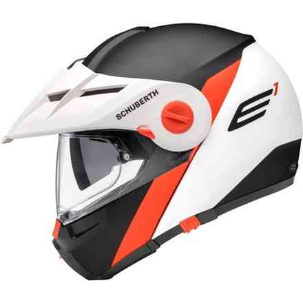 Helm E1 Gravity Orange Schuberth