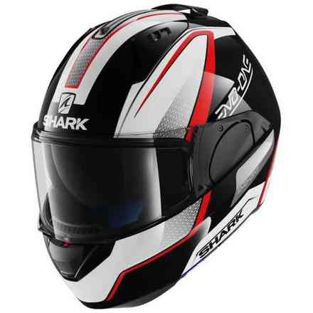 Helm Evo-One Astor Schwarz-Rot Shark