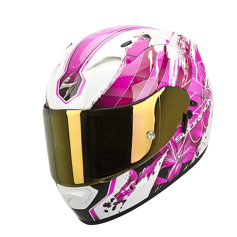 Helm Exo-1200  Air Lilium Weiss Pearl-Rosa Scorpion