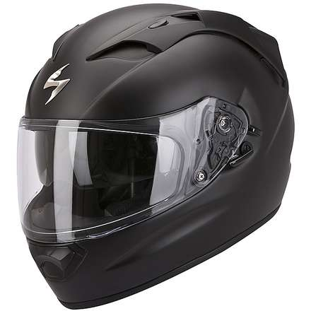 Helm Exo-1200  Air Solid Schwarz Mat Scorpion