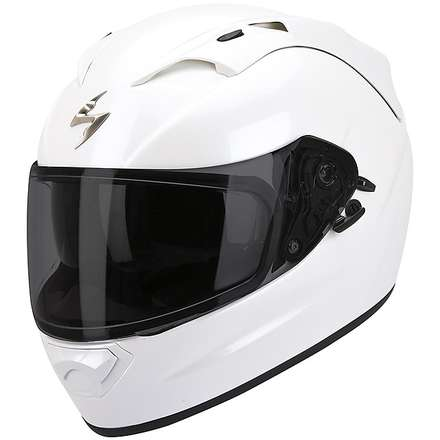 Helm Exo-1200  Air Solid Weiss Pearl Scorpion