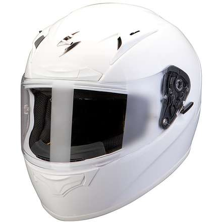 Helm Exo-2000 Evo Air Solid Pearl Weiss Scorpion