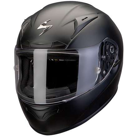 Helm Exo-2000 Evo Air Solid Schwarz Matt Scorpion