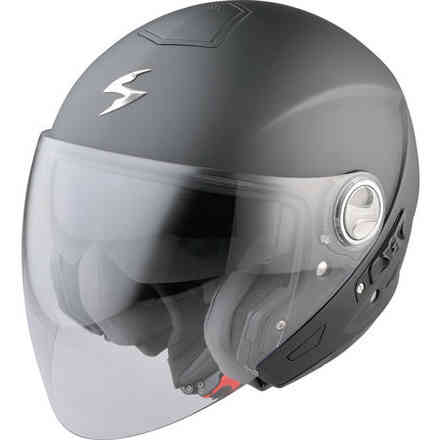 Helm Exo 210air Matt Schwarz  Scorpion