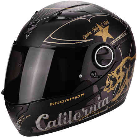 Helm Exo-490 Golden State Scorpion