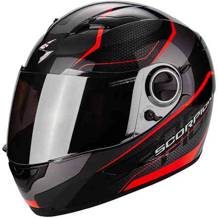 Helm Exo-490 Vision rot Scorpion